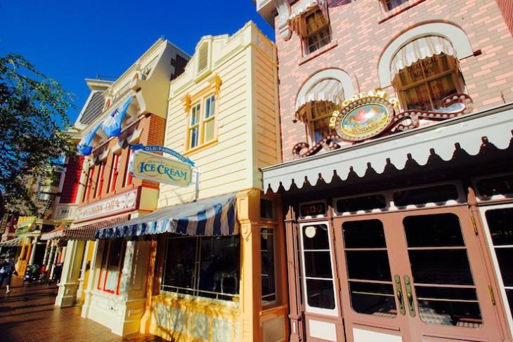 Nostalgic Main Street U.S.A.