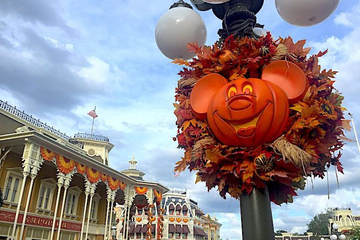 Main Street is such fun during Halloween time