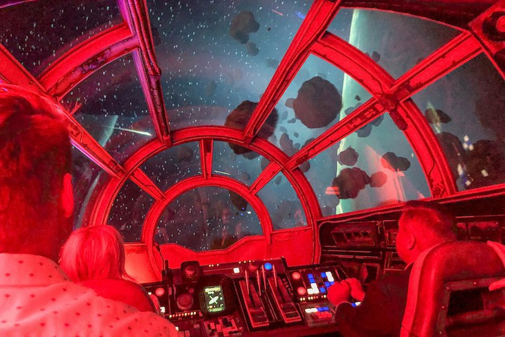 Millenium Falcon: one kick of a ride!