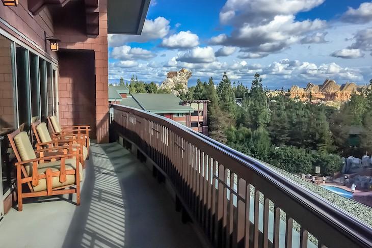 Mt. Whitney Suite balcony