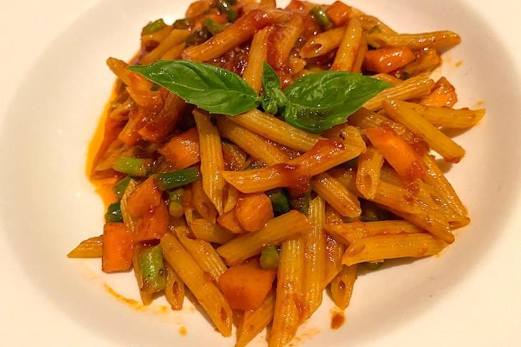 Palo vegan pasta