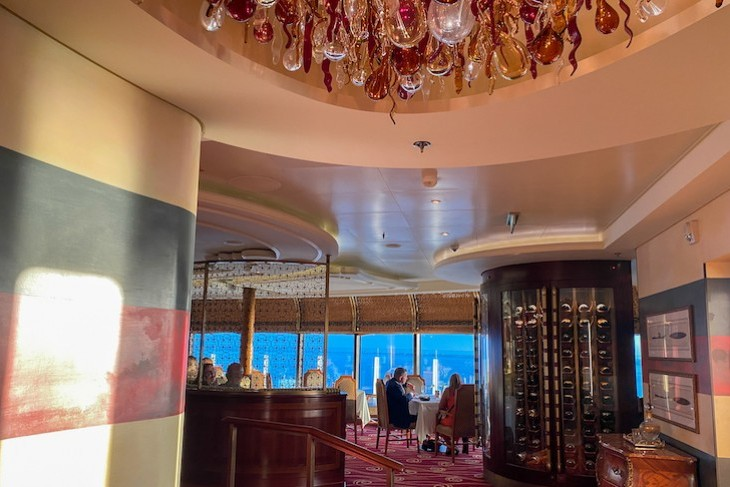 Palo. Enter for a night of fabulous food, Disney Dream