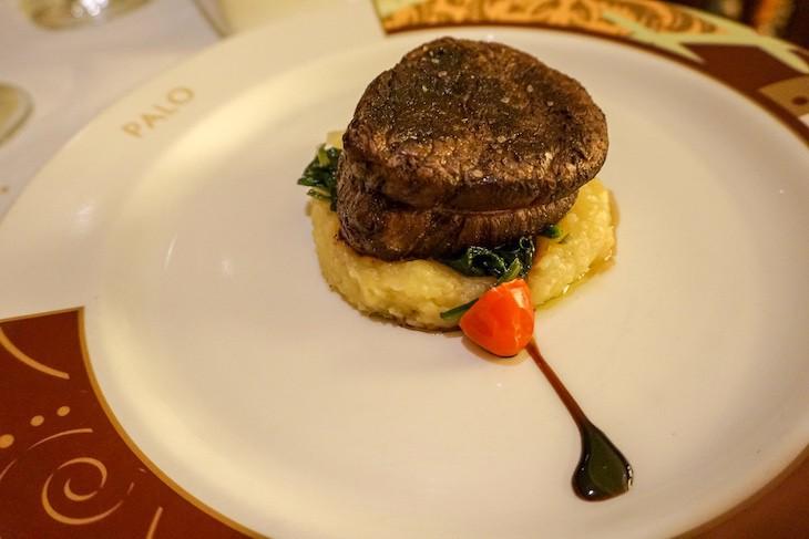 Palo grilled prime beef tenderloin