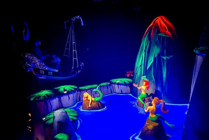 Who doesn't love a glimpse of the Mermaids in Peter Pan's Flight?