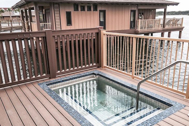 Bungalow plunge pool