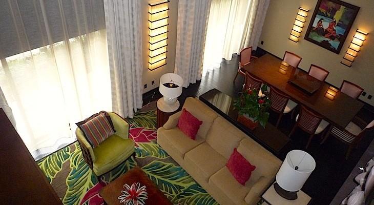 King Kamehameha Presidential Suite Living Room