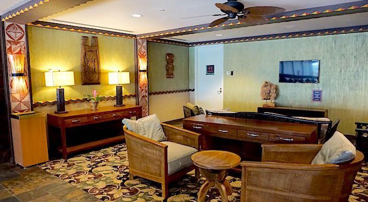 Polynesian's Royal King Kamehameha Club upstairs lounge