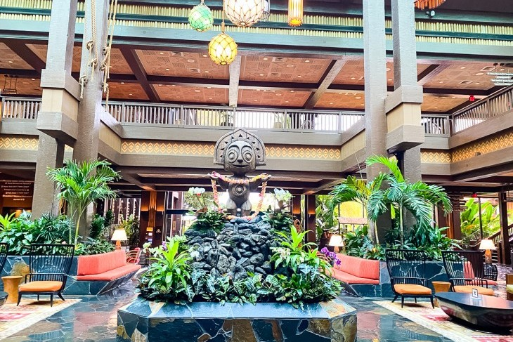 Welcome to Disney's Polynesian Village Resort!