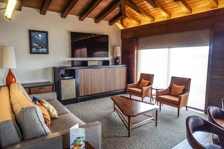 Bungalow living area