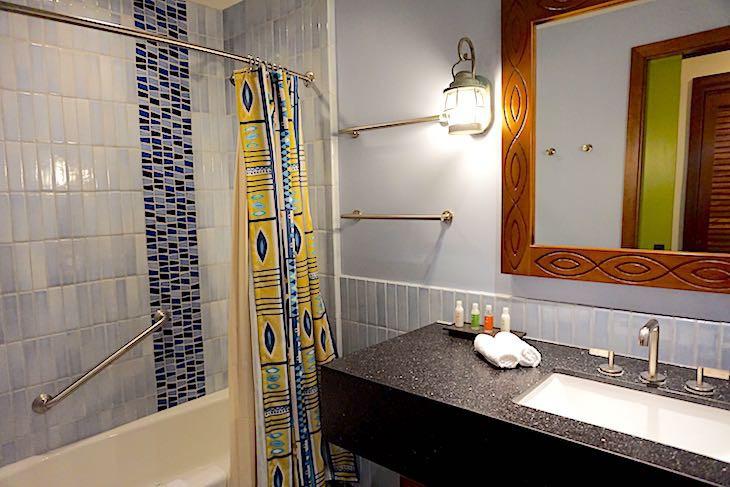 Bungalow guest bath
