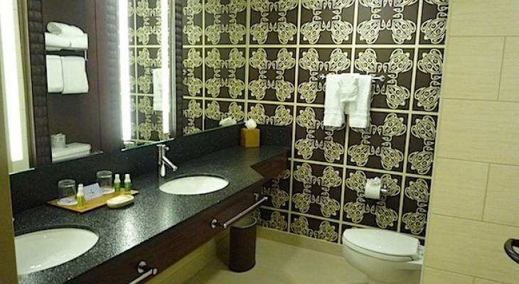 Concierge and Standard Guest Bath