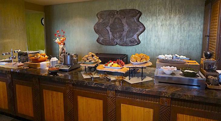 Concierge breakfast food offerings