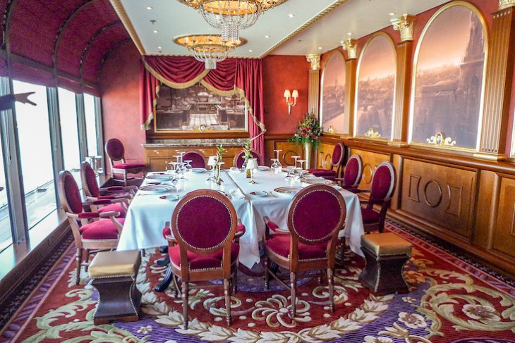 Remy Disney Dream Private Dining Room