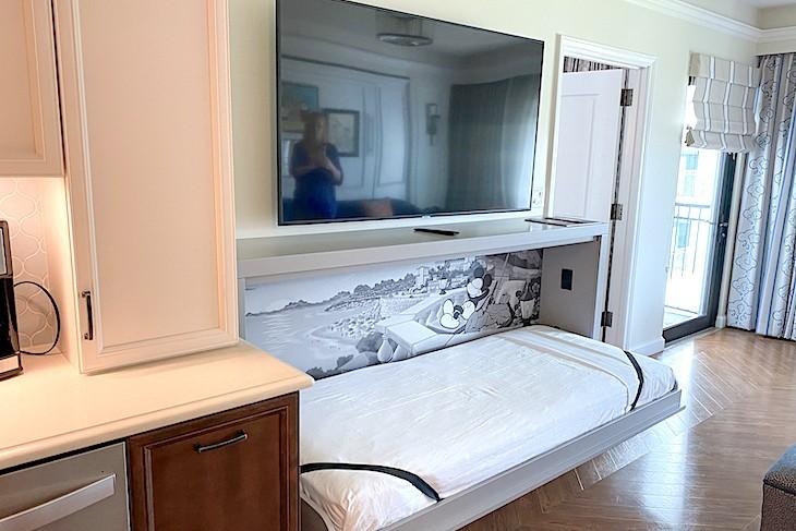 One-bedroom villa foldout twin