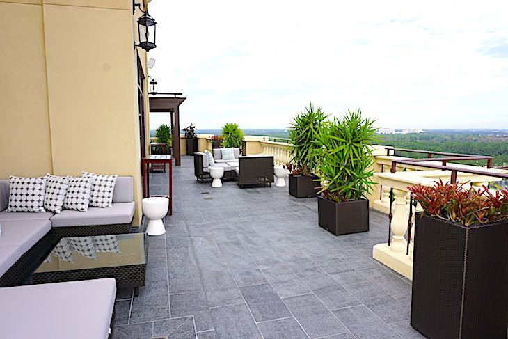 Royal Suite terrace view, perfect for fireworks viewing