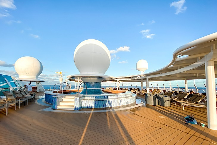 Disney Fantasy and Dream's Satellite Falls