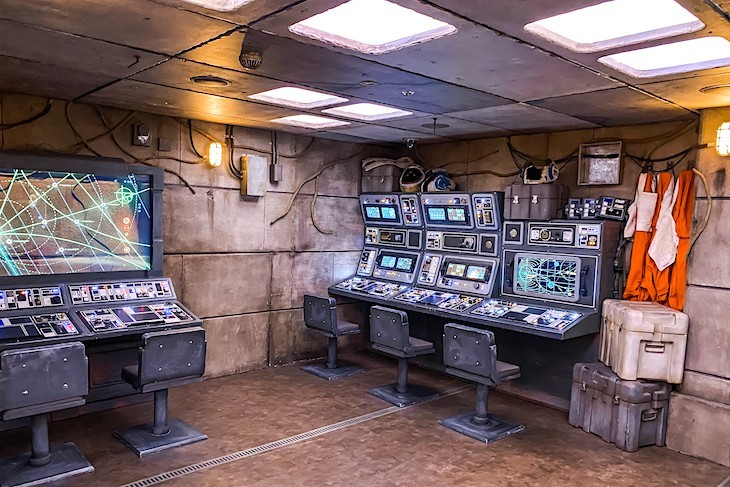 Star Wars Command Post, Disney Fantasy Oceaneer Club
