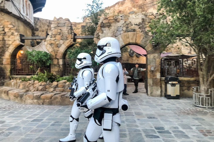Be on the lookout for stormtroopers