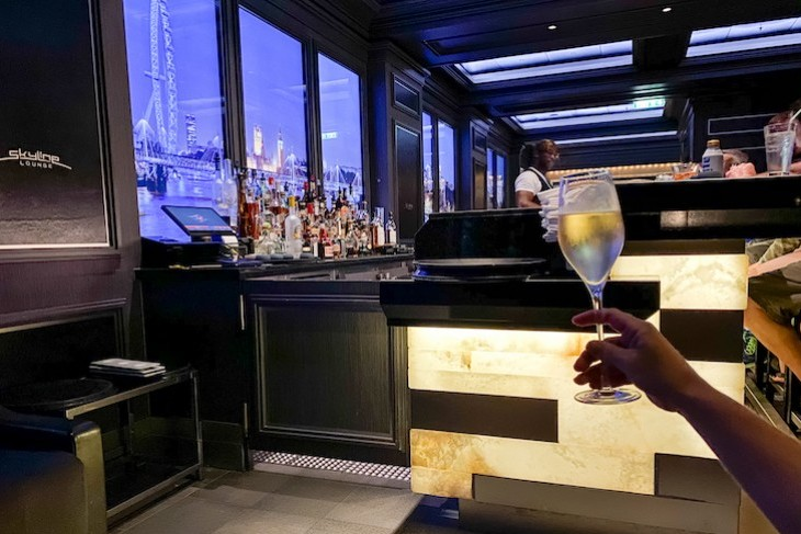 Disney Dream and Fantasy Skyline bar