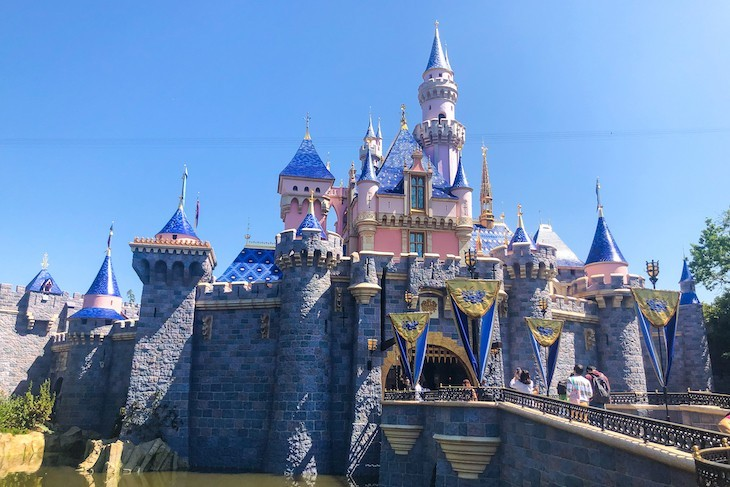 Disneyland's iconic Sleeping Beauty Castle