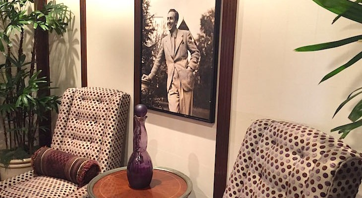 Steakhouse 55 is filled with Walt Disney memorabilia