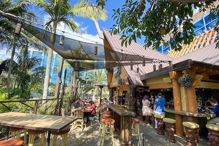 Tangaora Terrace is a great spot for outdoor dining