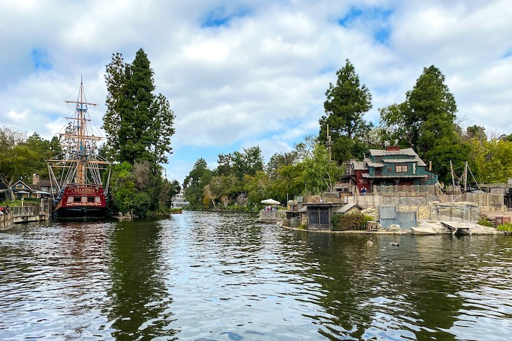 Sailing Ship Columbia and Tom Sawyer Island