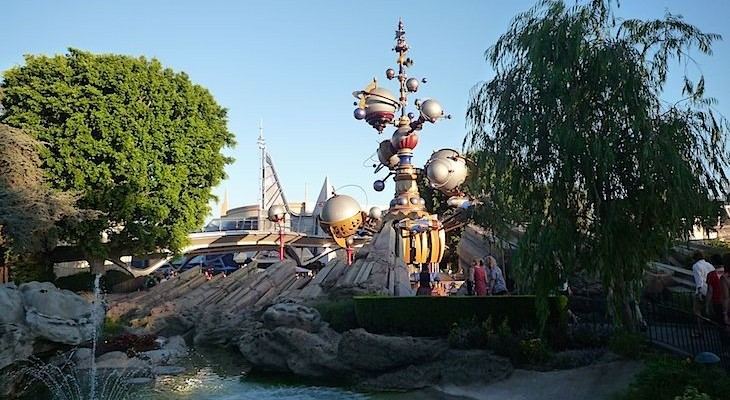 Entrance to Tomorrowland