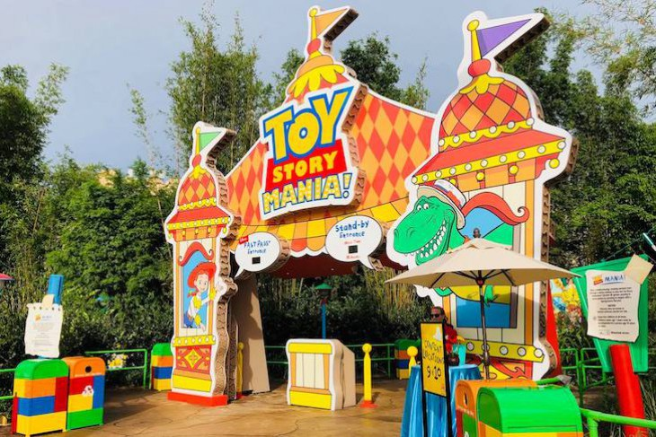 Toy Story Mania!® entrance
