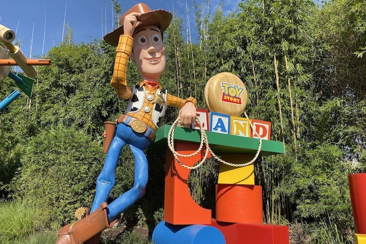 Welcome to Toy Story Land