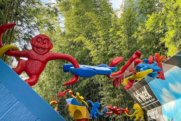 Toy Story Mania Barrel of Monkeys