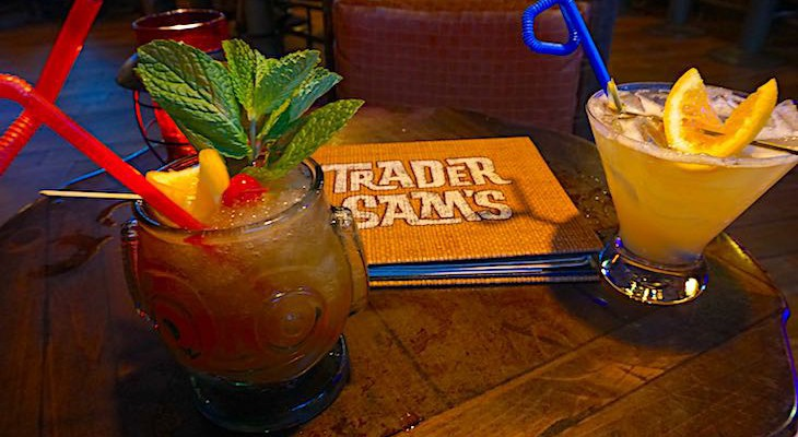 Don't miss drinks at Trader Sam's
