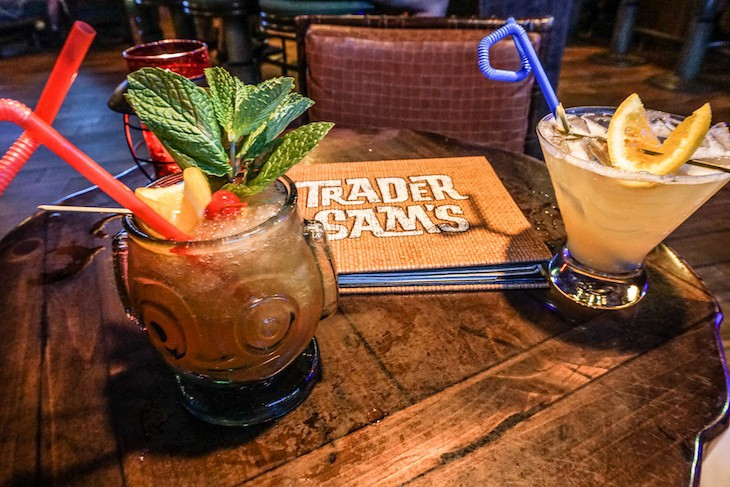 Don't miss drinks at Trader Sam's