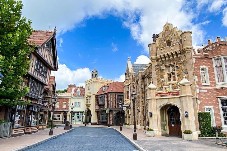 United Kingdom's authentic buildings