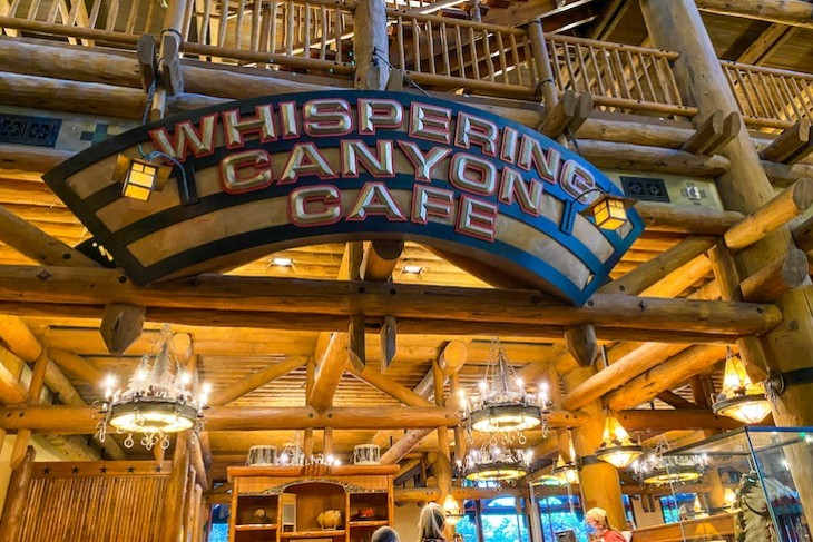 Whispering Canyon Cafe for hearty Western fare with all-you-care-to-enjoy skillets and shenanigans!