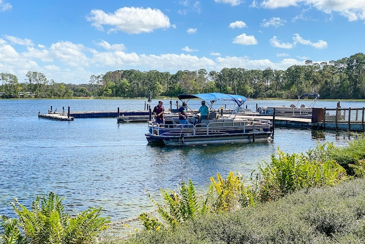 A great place to plan a fishing excursion