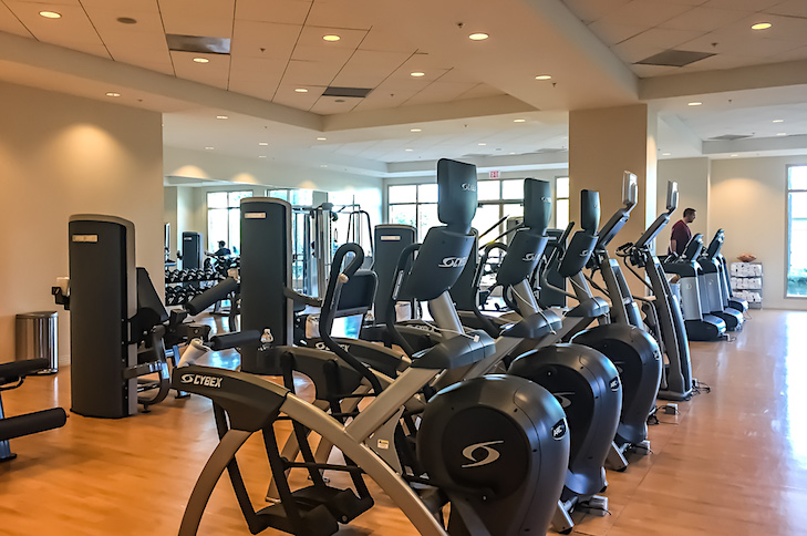 One of Orlando's best fitness rooms