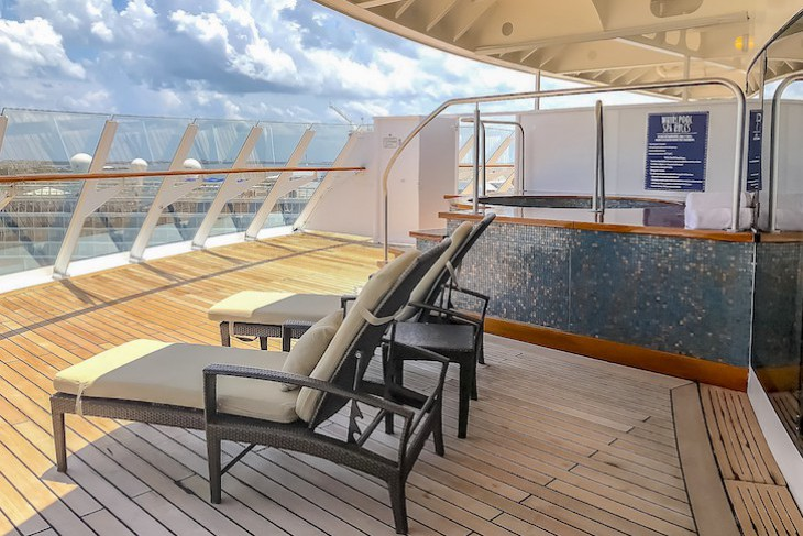 Disney Dream and Fantasy's Royal Suite Verandah