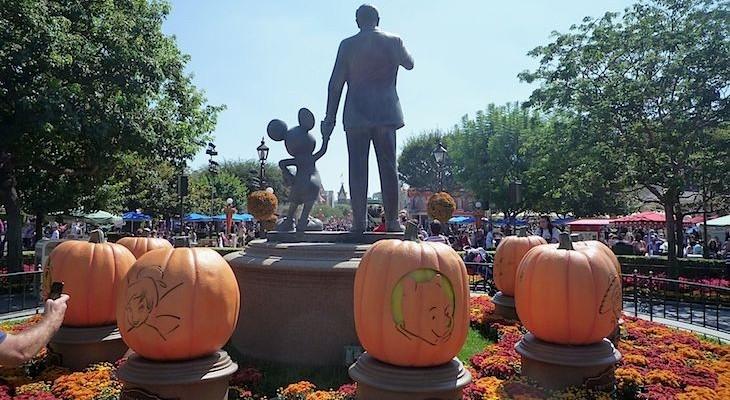 Disneyland Park® at Halloween