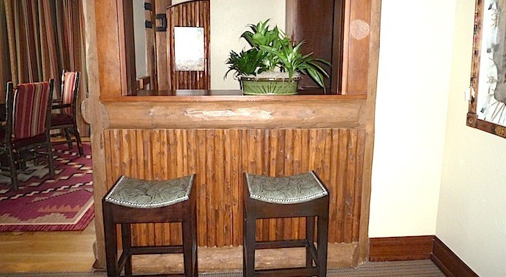 Vice Presidential Yosemite Suite's walk-in wet bar.