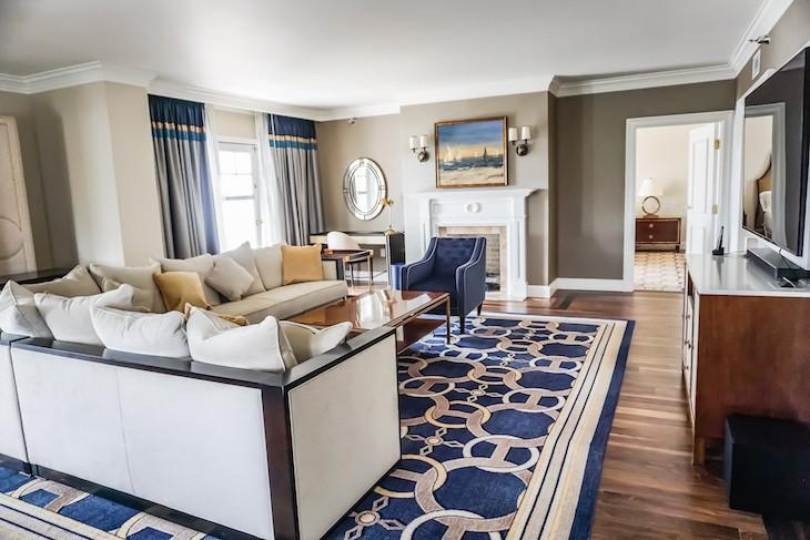 Admiral Suite Living Area