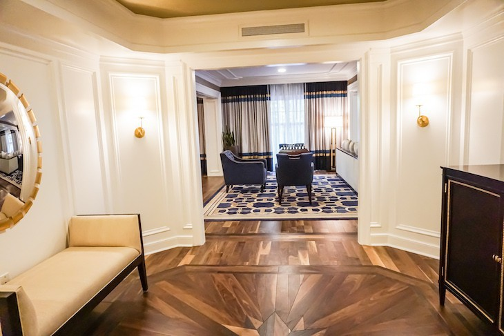 Captain's Deck Suite entry
