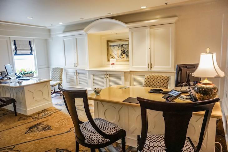 Regatta Club concierge desk