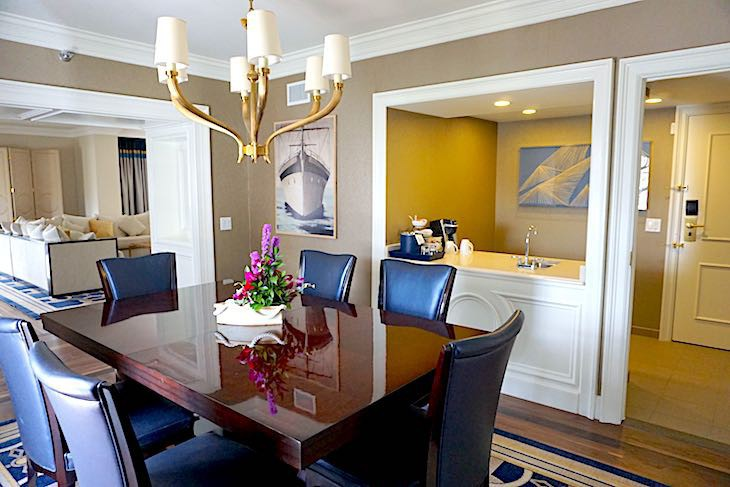 Admiral Suite Dining Room