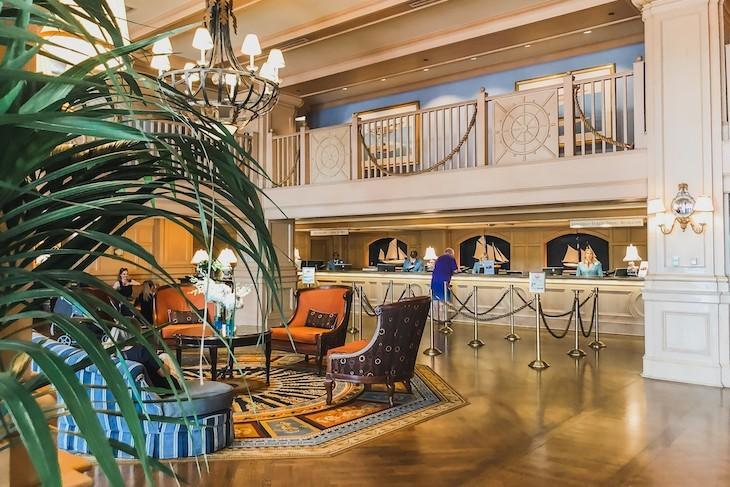 The resort's  lobby