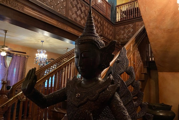 Yak & Yeti's fascinating decor