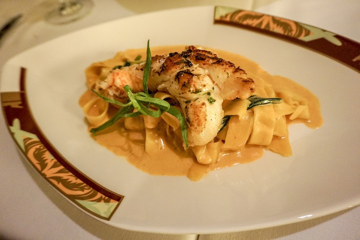 Palo lobster pappardelle